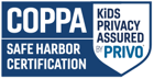 COPPA - Safe Harbor Certification (Kids' Privacy Assured Privo)