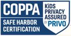 COPPA - Safe Harbor Certification (Kids' Privacy Assured Privo)