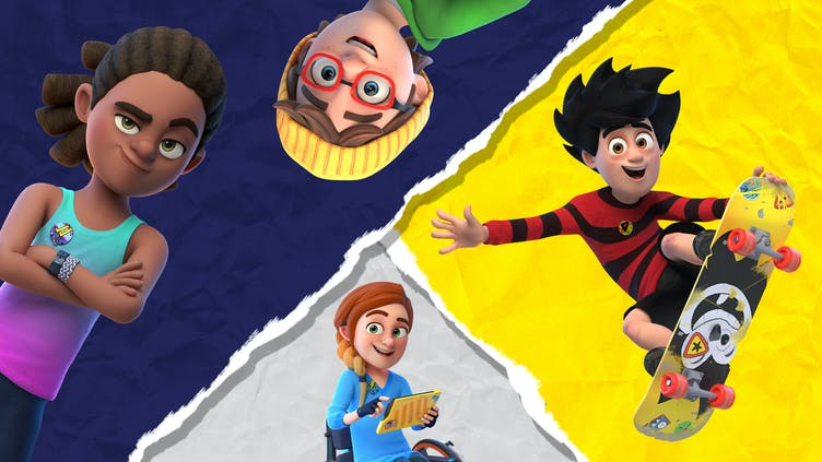 Dennis & Gnasher Unleashed character poll –favourite characters
