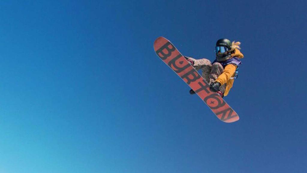 Snowboarder Chloe Kim