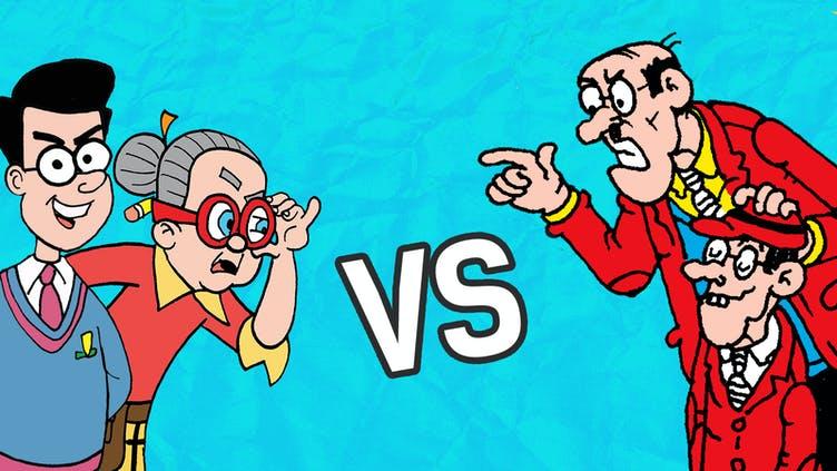Creecher vs Teacher 2