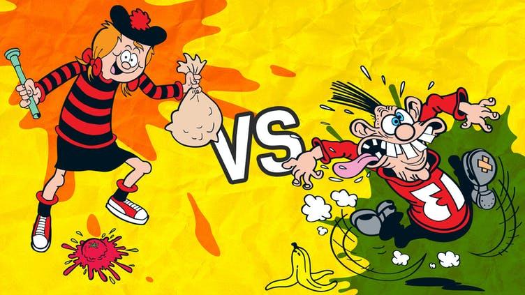 Minnie the Minx vs Calamity James 1