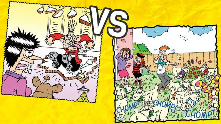 Minnie the Minx vs Calamity James 2
