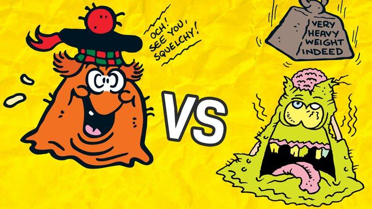 Minnie the Minx vs Calamity James 4