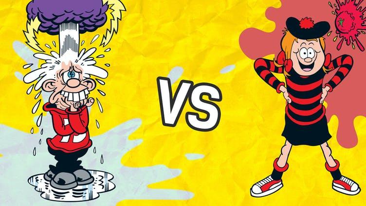 Minnie the Minx vs Calamity James 5