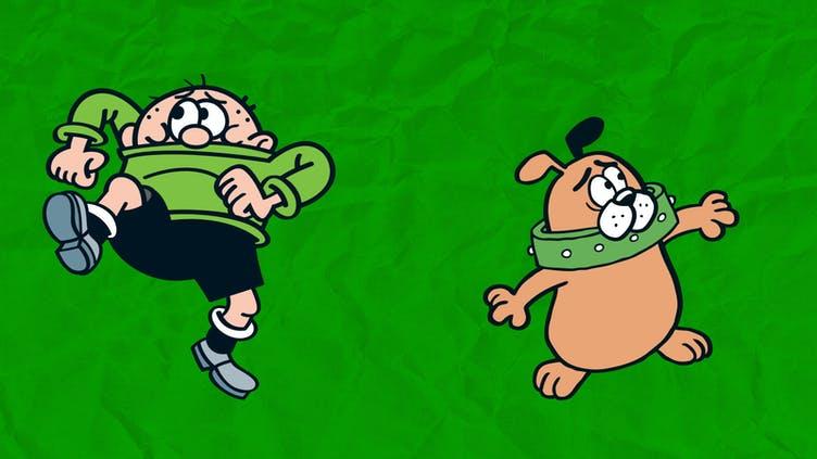 Bash Street Kids vs Bash Street Pups 6