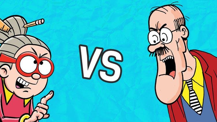 Creecher vs Teacher 5