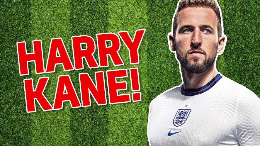 England footballer Harry Kane