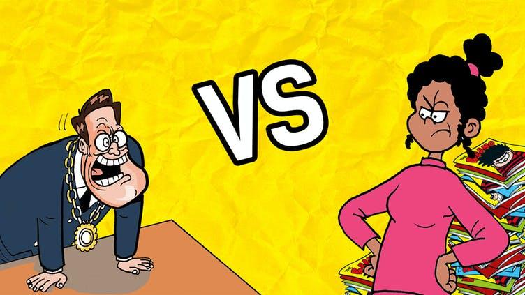 Beanotown Mums vs Beanotown Dads 5