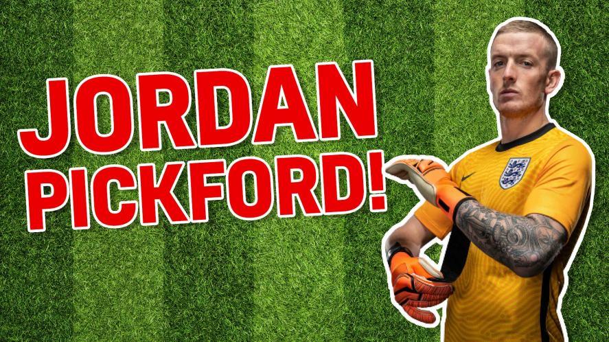 England footballer Jordan Pickford