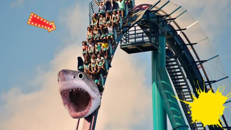 A theme park ride