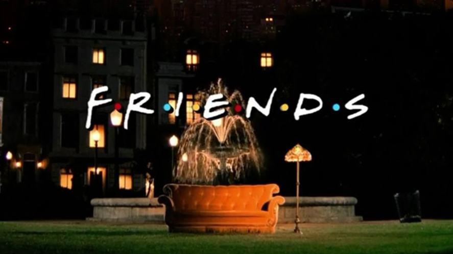 Friend's title screen
