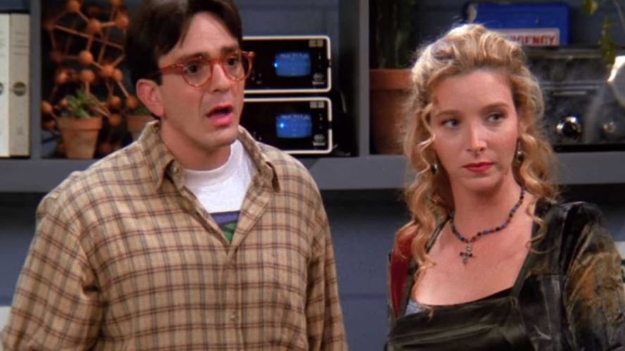 David and Phoebe in Friends