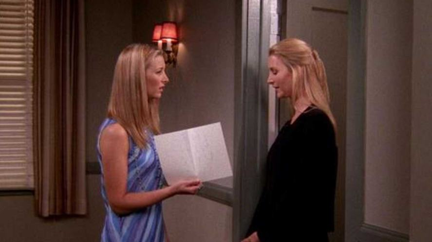 Phoebe and her twin sister