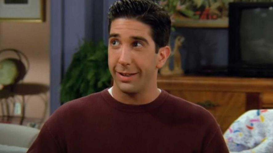 Ross is allergic to a certain kind of fruit