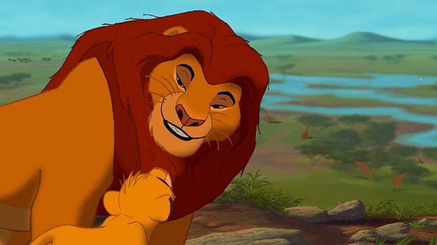 Screenshot from the Lion King