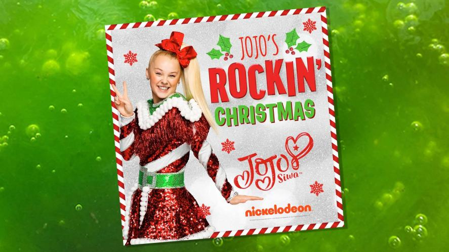 The cover of JoJo Siwa's Christmas album