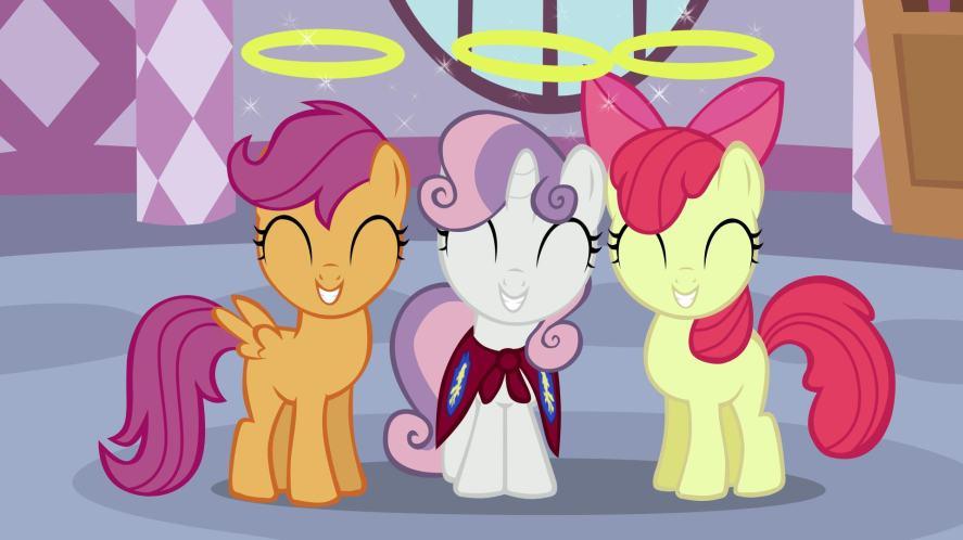 Sweetie Belle in My Little Pony
