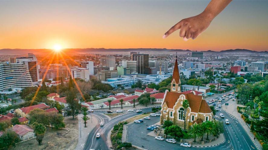 A capital city in Africa