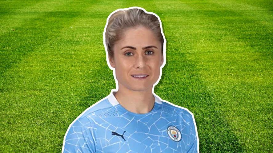 Steph Houghton of Manchester City Women's team
