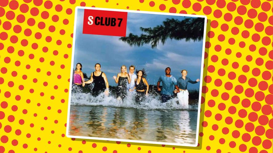 The cover of S Club 7's first album