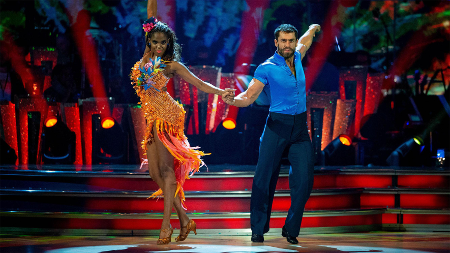Screenshot of Strictly Come Dancing