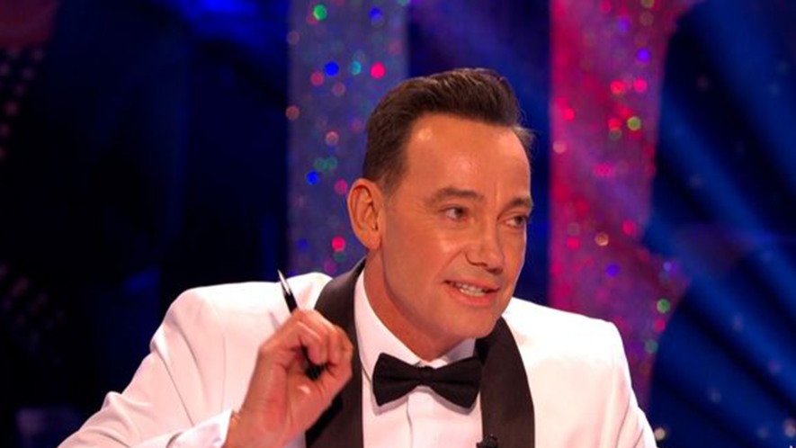 Screeshot from Strictly Come Dancing