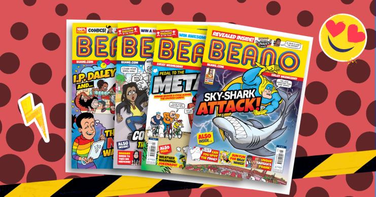 Beano comic covers