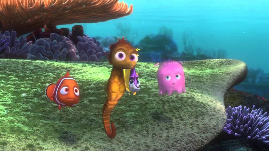 A scene from Finding Nemo