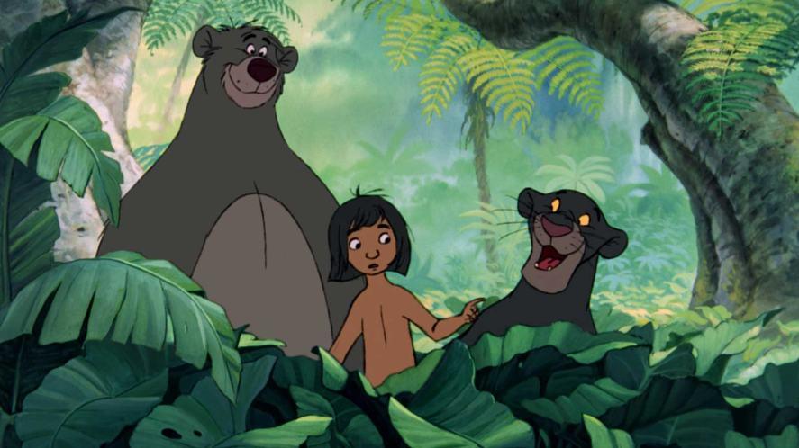 A scene from the Jungle Book