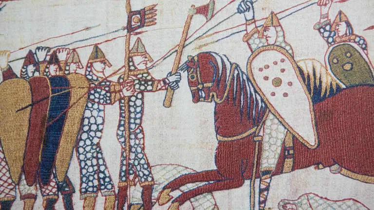 Battle of Hastings' Bayeux tapestry