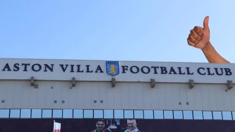 Aston Villa's ground