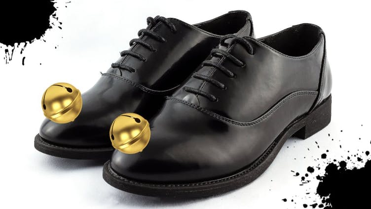 Shoes with bells on