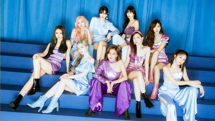 The Kpop group Twice