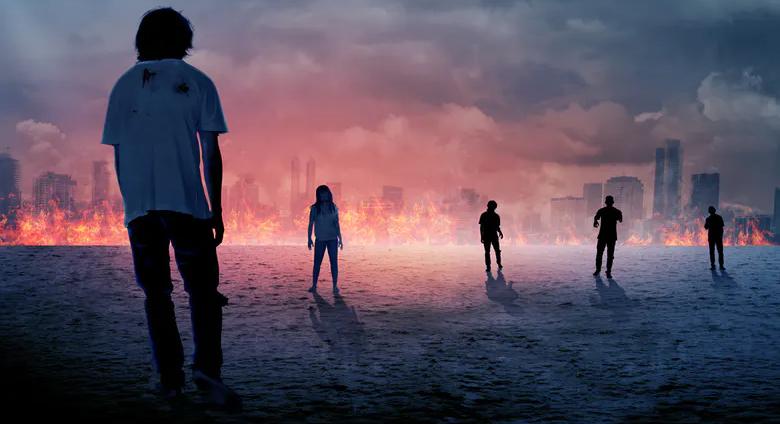 A zombie apocalypse