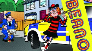 The cover of Beano no. 4076