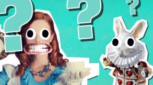 Alice in Wonderland quiz