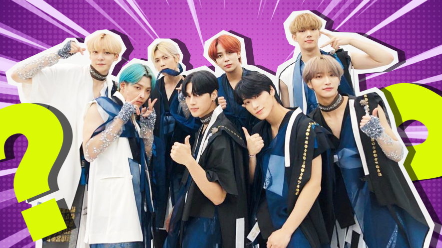 Ateez hanging out and looking awesome