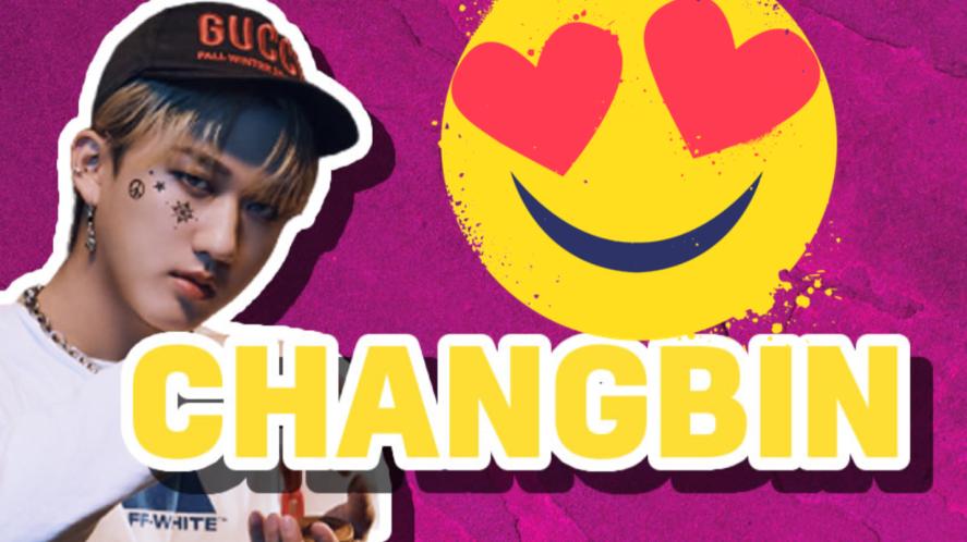 Changbin of Stray Kids