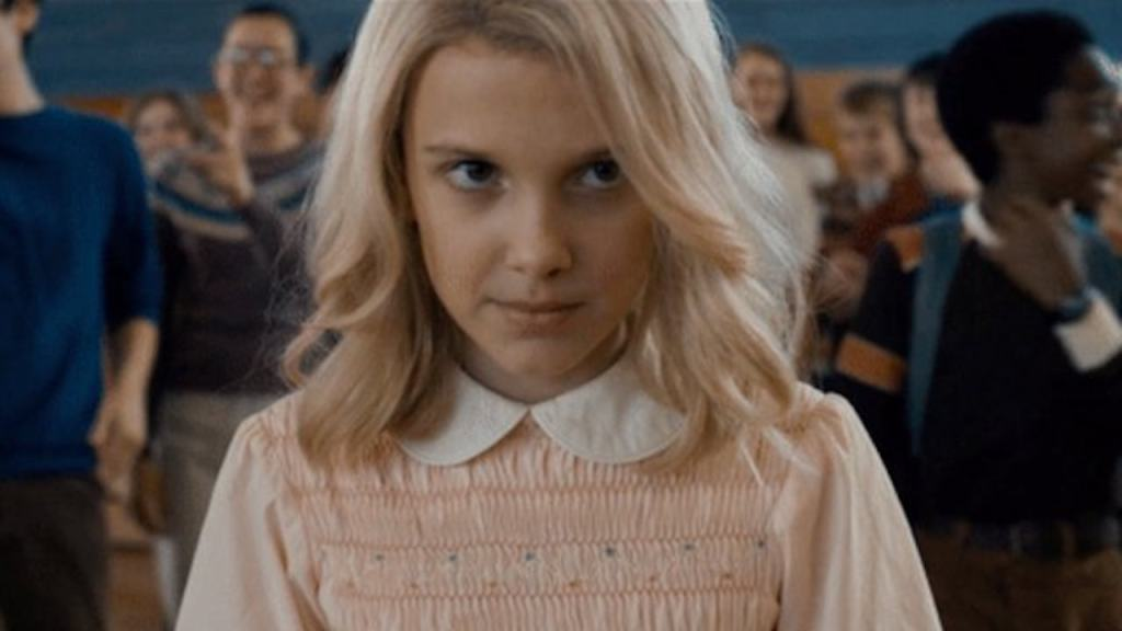 Eleven in Stranger Things