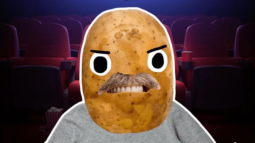 Vernon Dursley at a cinema