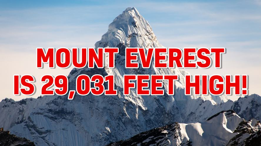 Mount Everest answer