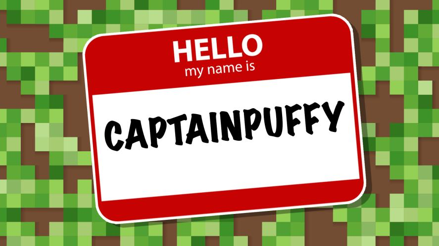 CaptainPuffy nametag