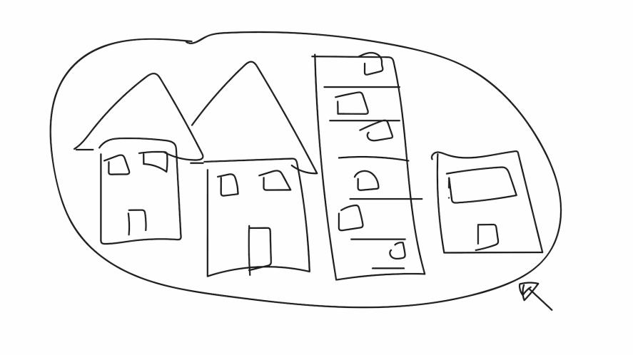 Some houses