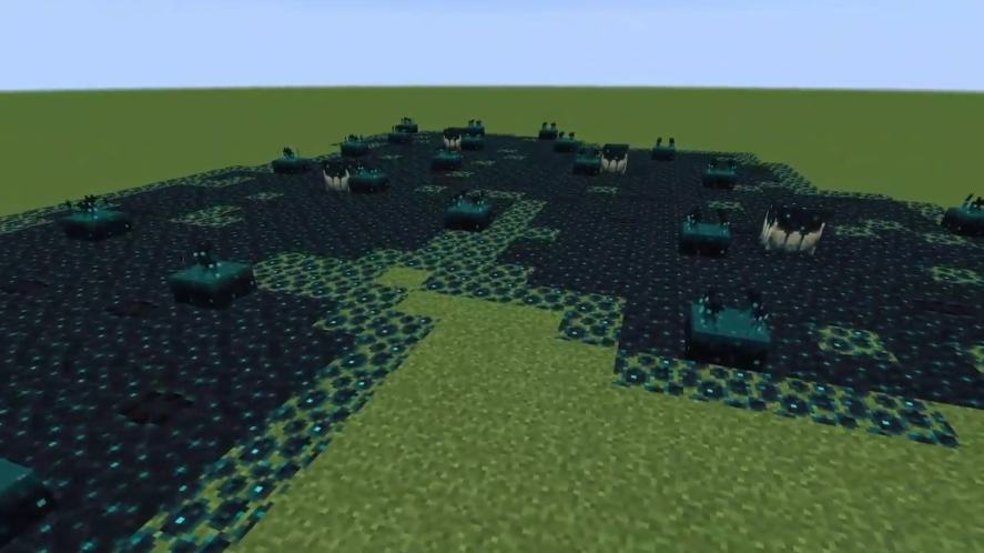 Sculk growths in Minecraft