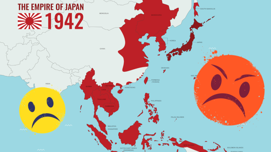 A map of Japan