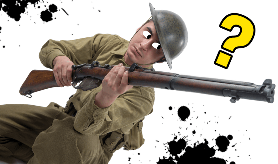 An image of a soldier in World War 1
