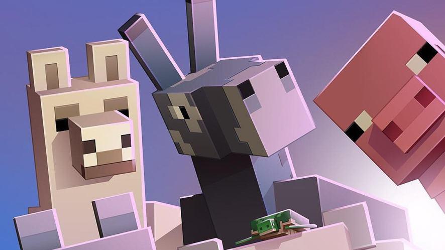 Some Minecraft animals