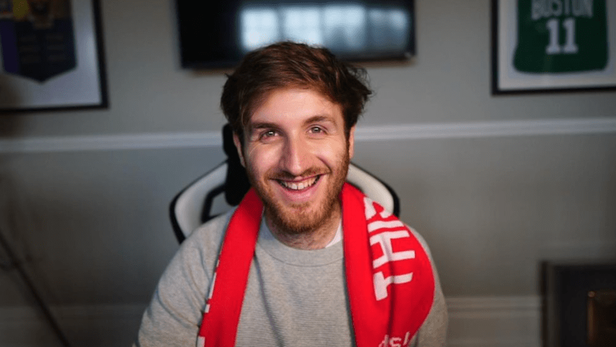 MattHDGamer in a red and white scarf