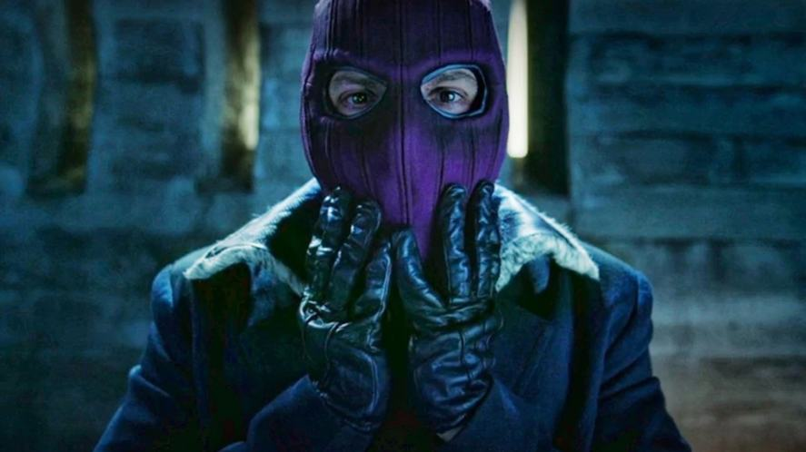 A villain wearing a balaclava in The Falcon And the Winter Soldier
